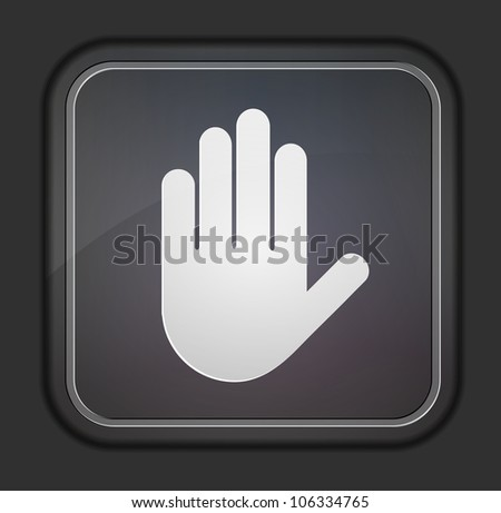 Vector version. Bar code icon. Eps 10 illustration. Easy to edit - stock vector