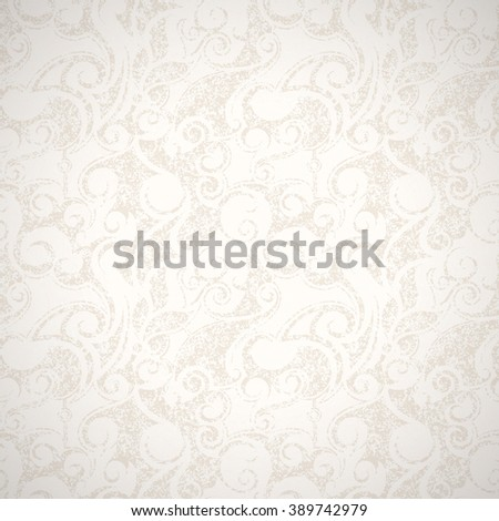Vector vintage background. Grunge style with scratches. - stock vector