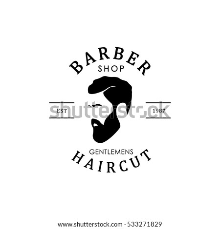 Vintage Logo Badge Template With Wooden Barrels For Beer House Bar