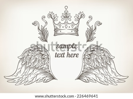 Wings Design Stock Images Royalty Free Images Vectors