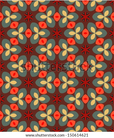 vector vintage geometric seamless pattern, endless texture can be used for wallpaper, pattern fills, web page background,surface textures