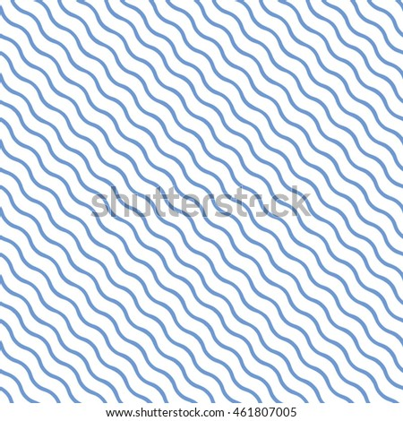 Vector wavy pattern. Geometric diagonal background