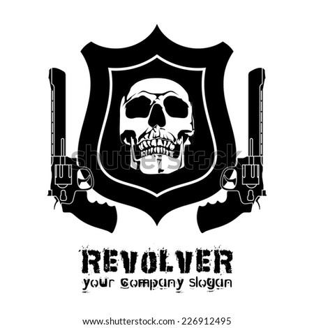 vector weapon svd pomegranate grenade bombshell whizzbang chopper sniper rifle taurus s&w Heckler & Koch hk Browning Mauser REVOLVER Colt Smith & Wesson Parabellum  magnum beretta - stock vector