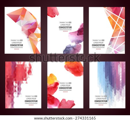 Vector web and mobile interface template. Corporate website design. - stock vector
