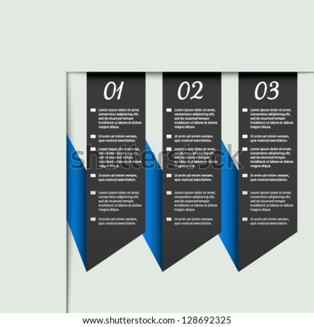 Vector web template - banners, webpage, website layout - stock vector