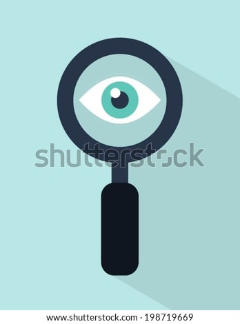 vector web visibility concept illustration - stock vector