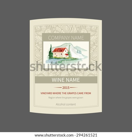 french wine label stock images royalty free images vectors shutterstock. Black Bedroom Furniture Sets. Home Design Ideas
