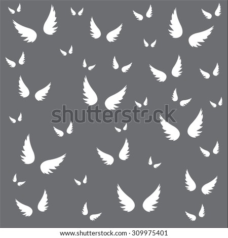 Vector wing  background