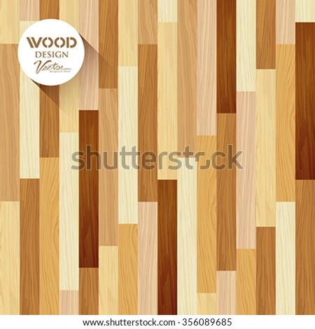Vector Wood floor striped vertical concept design background,illustration - stock vector