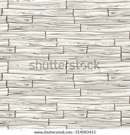 Vector wood plank background. Seamless pattern. - stock vector