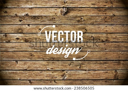Vector wood texture. background old panels. Grunge retro vintage wooden texture, vector background. Vertical stripes. - stock vector