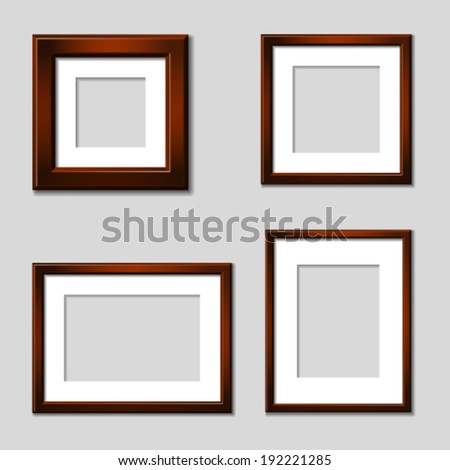 Mahogany Frame Stock Photos, Royalty-Free Images & Vectors ...