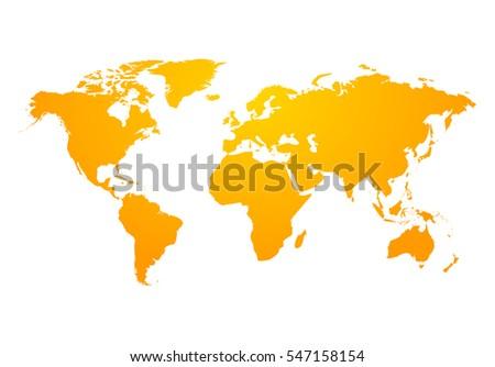Vector world map global earth icon vector de stock547158154 vector world map global earth icon america asia australia africa usa gumiabroncs Image collections