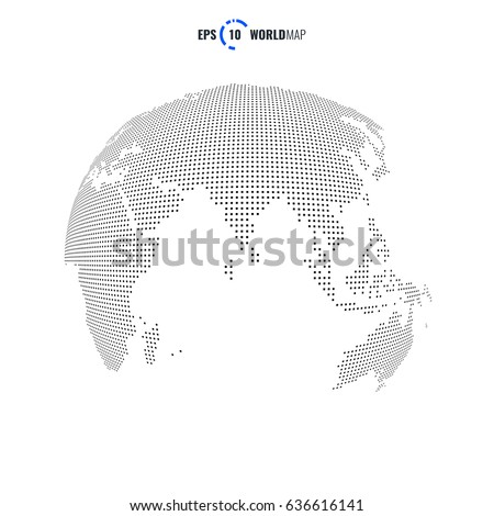 Vector world map globe template eps stock vector 636616141 vector world map globe template eps 10 gumiabroncs Image collections