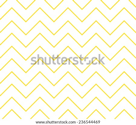 Vector zigzag chevron pattern background, hipster style design - stock vector