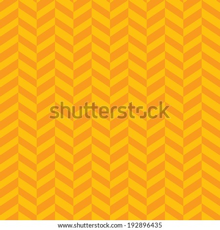 Vector zigzag yellow seamless pattern. Eps10 - stock vector