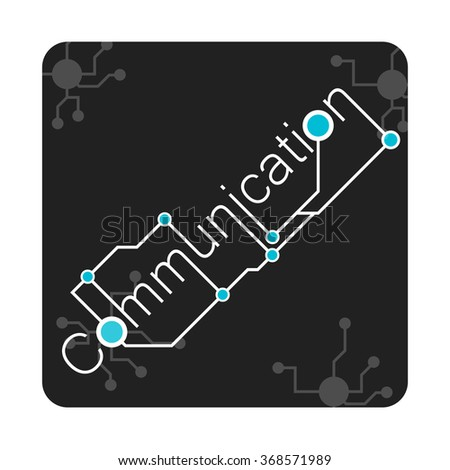 vectors communication background