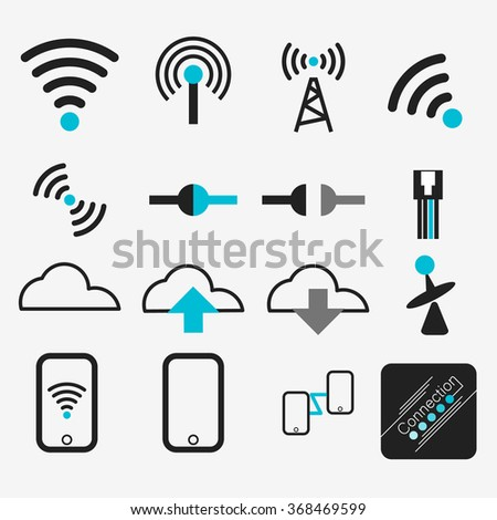 vectors wireless internet network