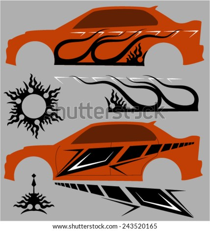 Vehicle Graphics Stock Images RoyaltyFree Images  Vectors - Car body graphics for alto