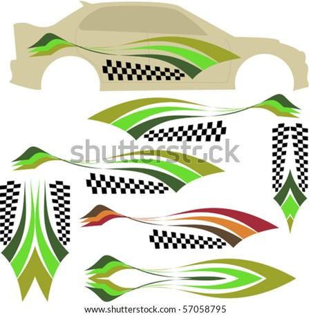 Vehicle Graphics Stripe Stock Images RoyaltyFree Images - Best automobile graphics and patterns