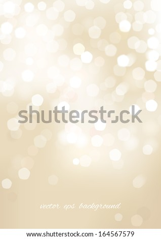Vertical beige blurred background with graphic elements. Vector version. - stock vector