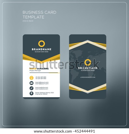 Two sided business cards zrom double sided business card printing same day best business cards fbccfo Image collections