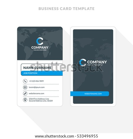Double sided business cards templates etamemibawa double sided business cards templates cheaphphosting Gallery