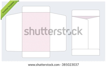 Vertical envelope template stock vector 385023037 shutterstock vertical envelope template spiritdancerdesigns Choice Image
