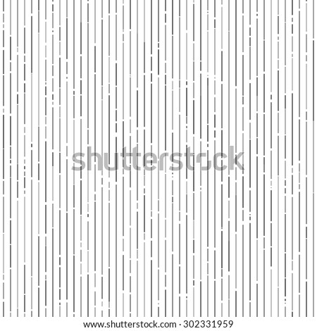 Vertical gray random tinted lines seamless pattern background - stock vector