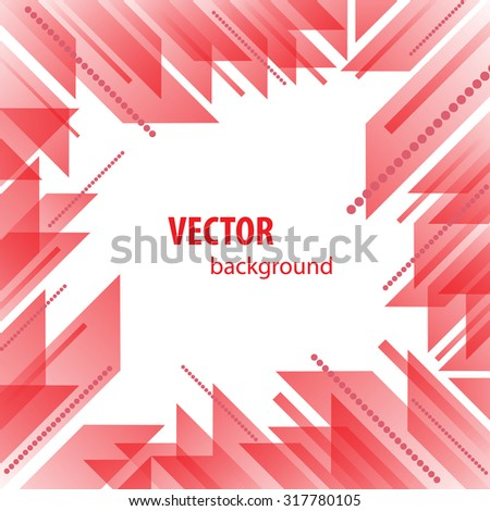 Very beautiful red abstract background