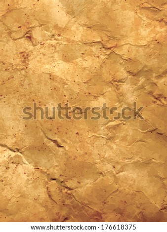 Very detailed background of grunge crumpled paper