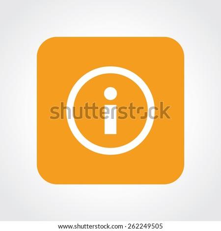 Very Useful Flat Icon of Info. Eps-10. - stock vector