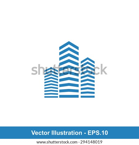Very Useful Icon Of Building. Eps-10. - stock vector
