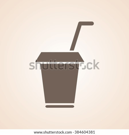 Very Useful Icon of Drink Cup for Web & Mobile. Eps-10.