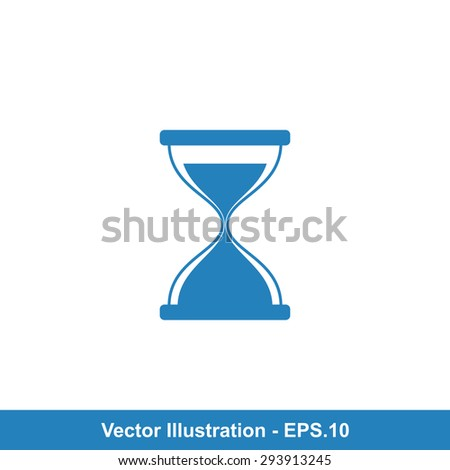 Very Useful Icon Of Hour Glass. Eps-10.