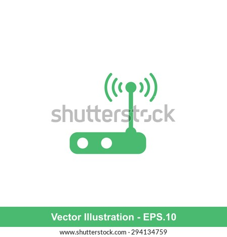 Very Useful Icon Of Wi-Fi. Eps-10. - stock vector