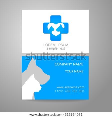 dog business card stock images royalty free images vectors shutterstock. Black Bedroom Furniture Sets. Home Design Ideas