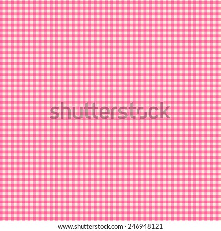 Vichy pattern seamless background vector - stock vector
