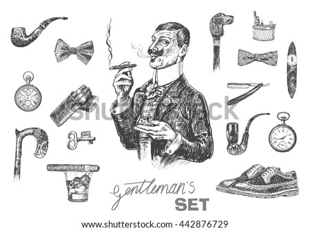 stock-vector-victorian-era-set-gentleman