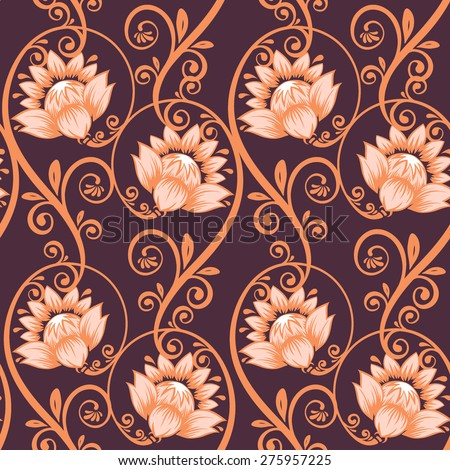Victorian, pattern. - stock vector