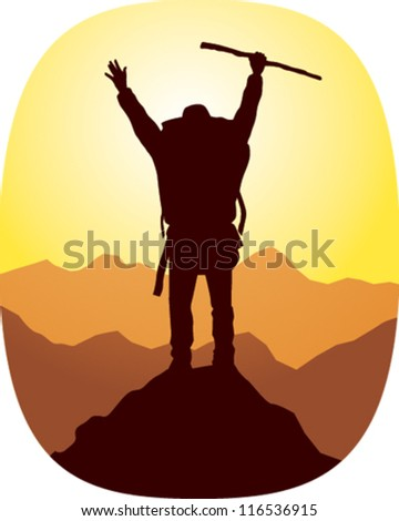 Victory - stock vector