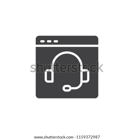 Video Chat Vector Icon Filled Flat Stock Vector Royalty Free