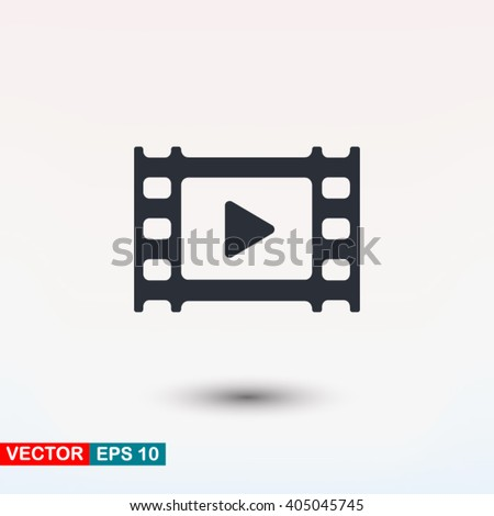 Video icon, Video icon eps, Video icon art, Video icon jpg, Video icon web, Video icon ai, Video icon app, Video icon flat, Video icon logo, Video icon sign, Video icon ui, Video icon vector, Video - stock vector