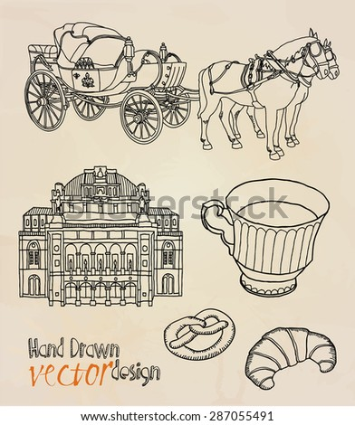 Vienna - stock vector