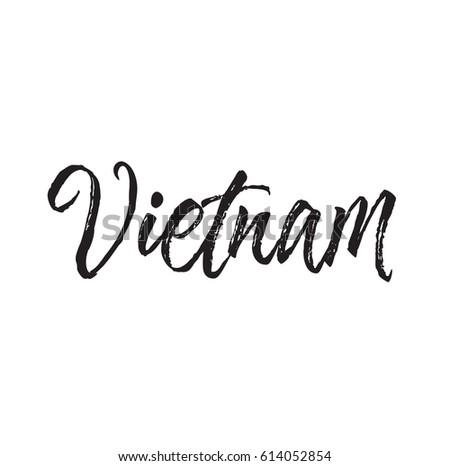how to write vietnamese calligraphy
