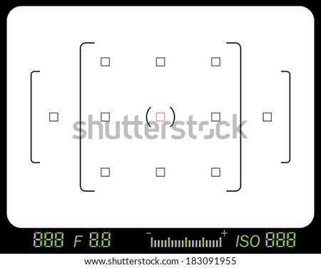 Viewfinder - stock vector