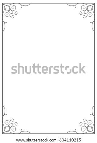 A4 Size Frames Erkalnathandedecker