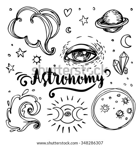 Vintage astronomy stars moons planets handdrawn stock vector vintage astronomy stars moons planets handdrawn stock vector 348286307 shutterstock stopboris Choice Image