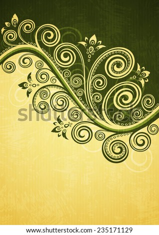 Vintage background. - stock vector