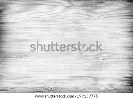Vintage background of weathered painted wooden plank. Vector illustration - stock vector